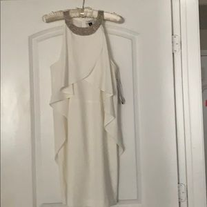 Halston Sequin Collar Dress **New with tags**